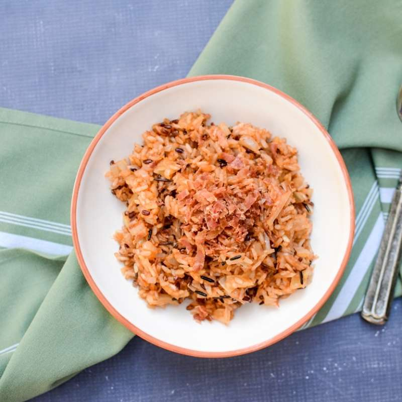 Wild Rice Blend Bacon